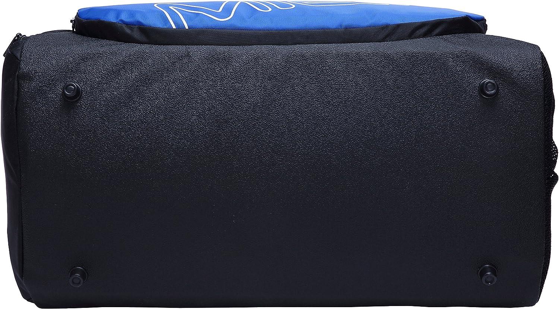 MIER Sac de Sport Sac de Sport pour Hommes et Femmes avec Compartiment de Chaussures 25L,Bleu