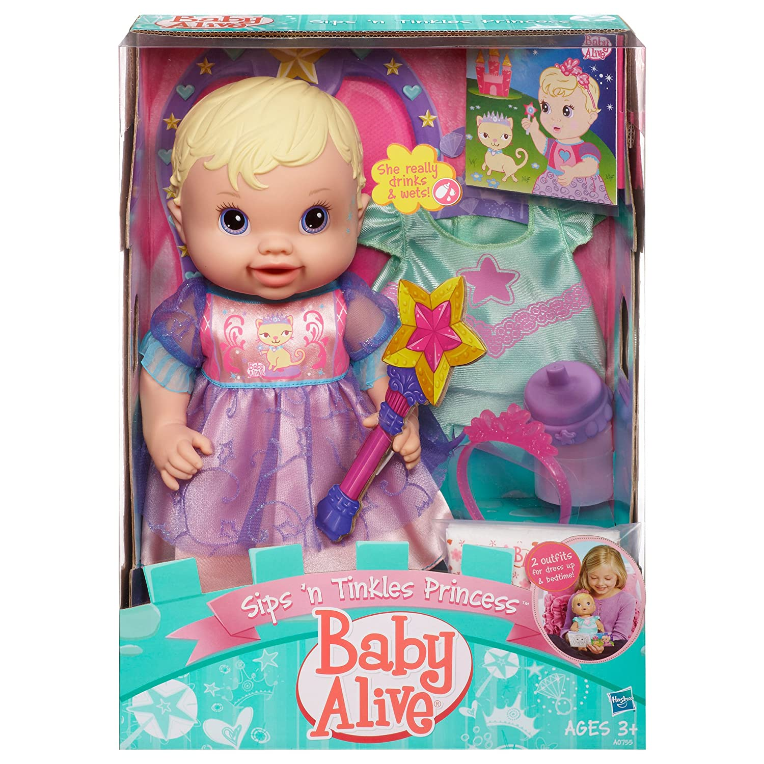 Buy Baby Alive Princess Doll Blonde line at Low Prices in India