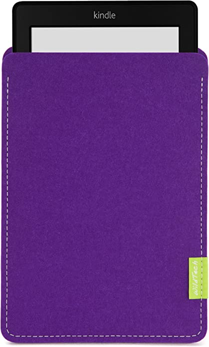 Wildtech Sleeve Für Kindle Paperwhite 17 Farben Handmade In Germany Lila Kindle Shop