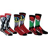 Kids 4 Pair SockShop Marvel Villains Doctor Octopus Green Goblin Red Skull and