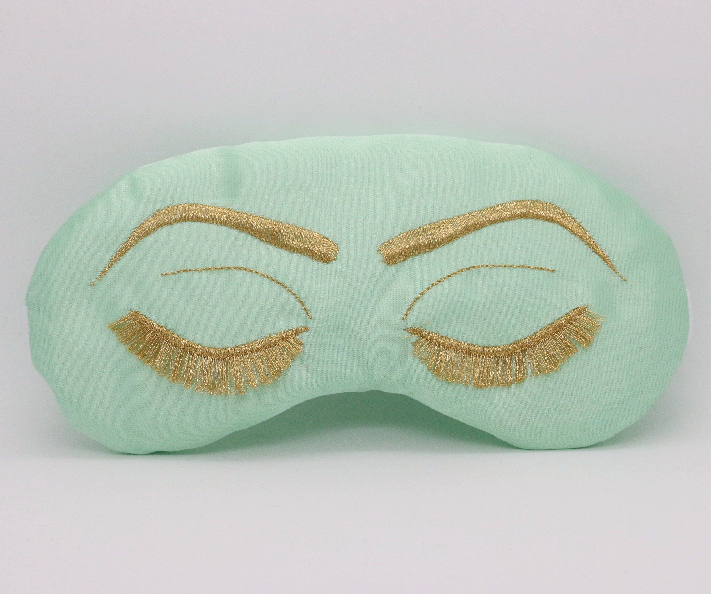 Hollywood Glam Sleep Mask Regency Style Breakfast at Tiffanys Audrey Hepburn- Mint Julep