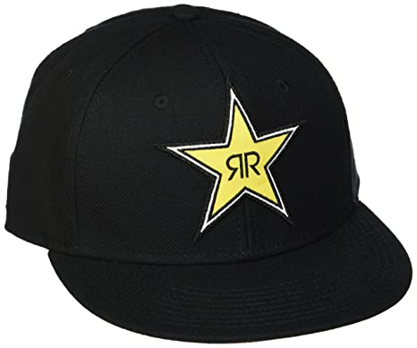 a269540999727 Amazon.com  Factory Effex (18-86602) Rockstar Star Snap-back Hat ...