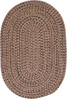 product image for Colonial Mills Hillsdale Braided Reversible Rug USA MADE - 3' x 5' Mocha