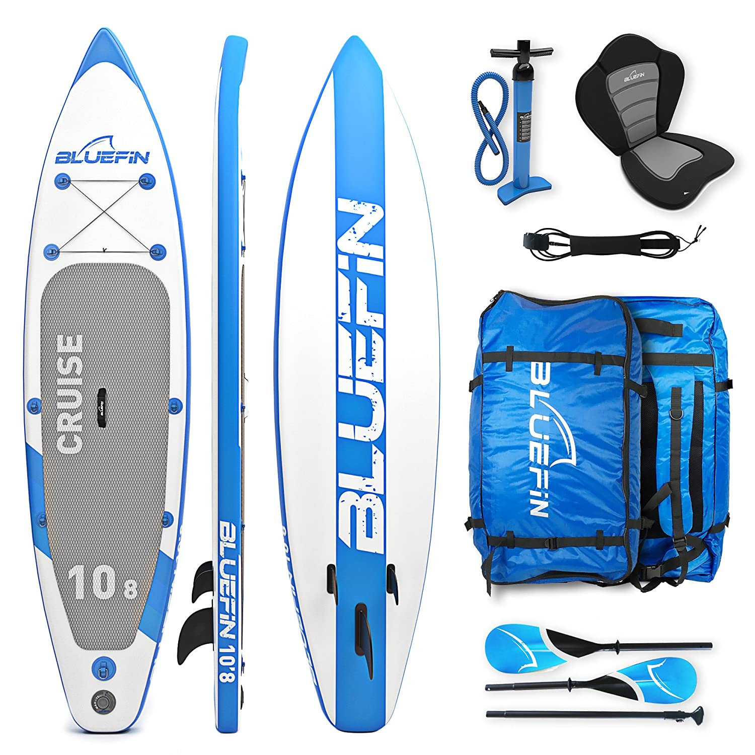 Great for Long-Distance Paddling - Bluefin Paddle Board