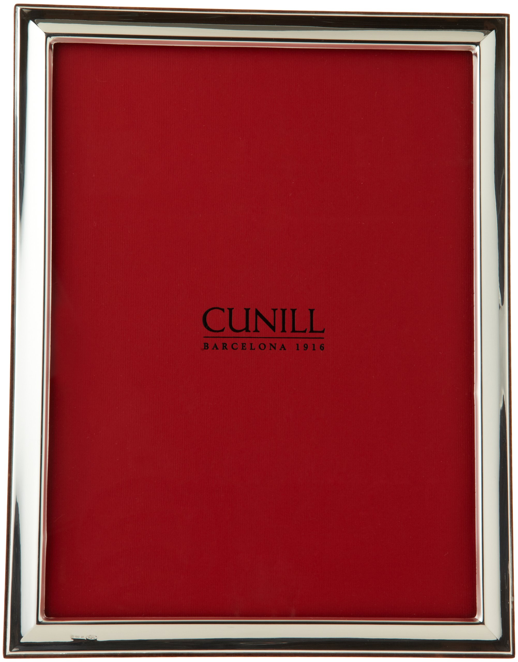 Cunill Barcelona Plain Beveled Sterling Silver Frame, 8'' x 10'' by Cunill