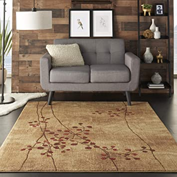 Awesome Nourison Somerset Latte Brown Area Rug 53 X 75 Ncnpc Chair Design For Home Ncnpcorg