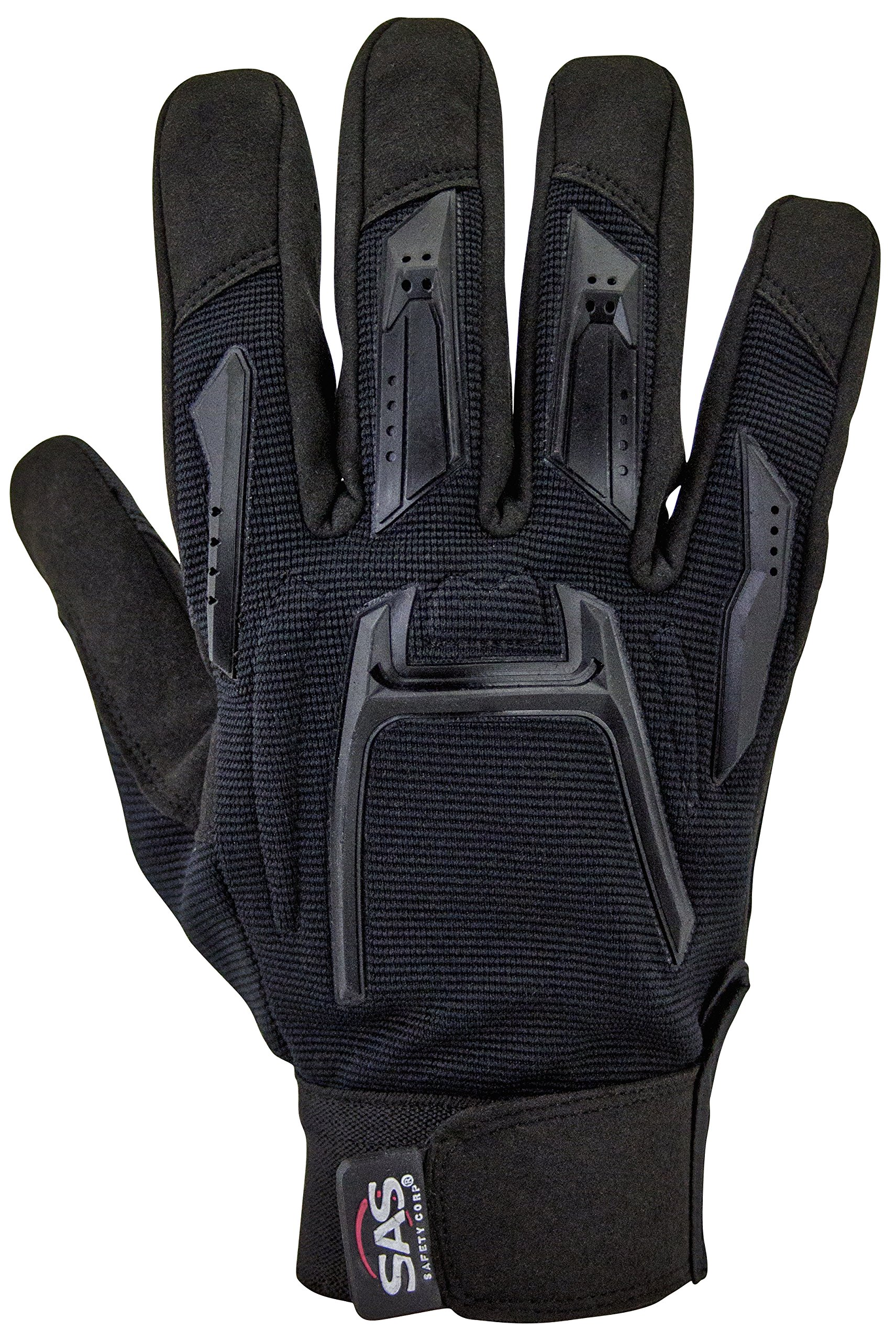 SAS Safety Corp. 6722-24 SAS Safety MX Impact Resistant Grip Palm Glove with Finger Patches, X-Large