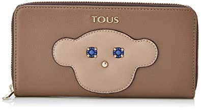 Tous Billetera Mediana Patch Maia, Cartera para Mujer, Beige ...
