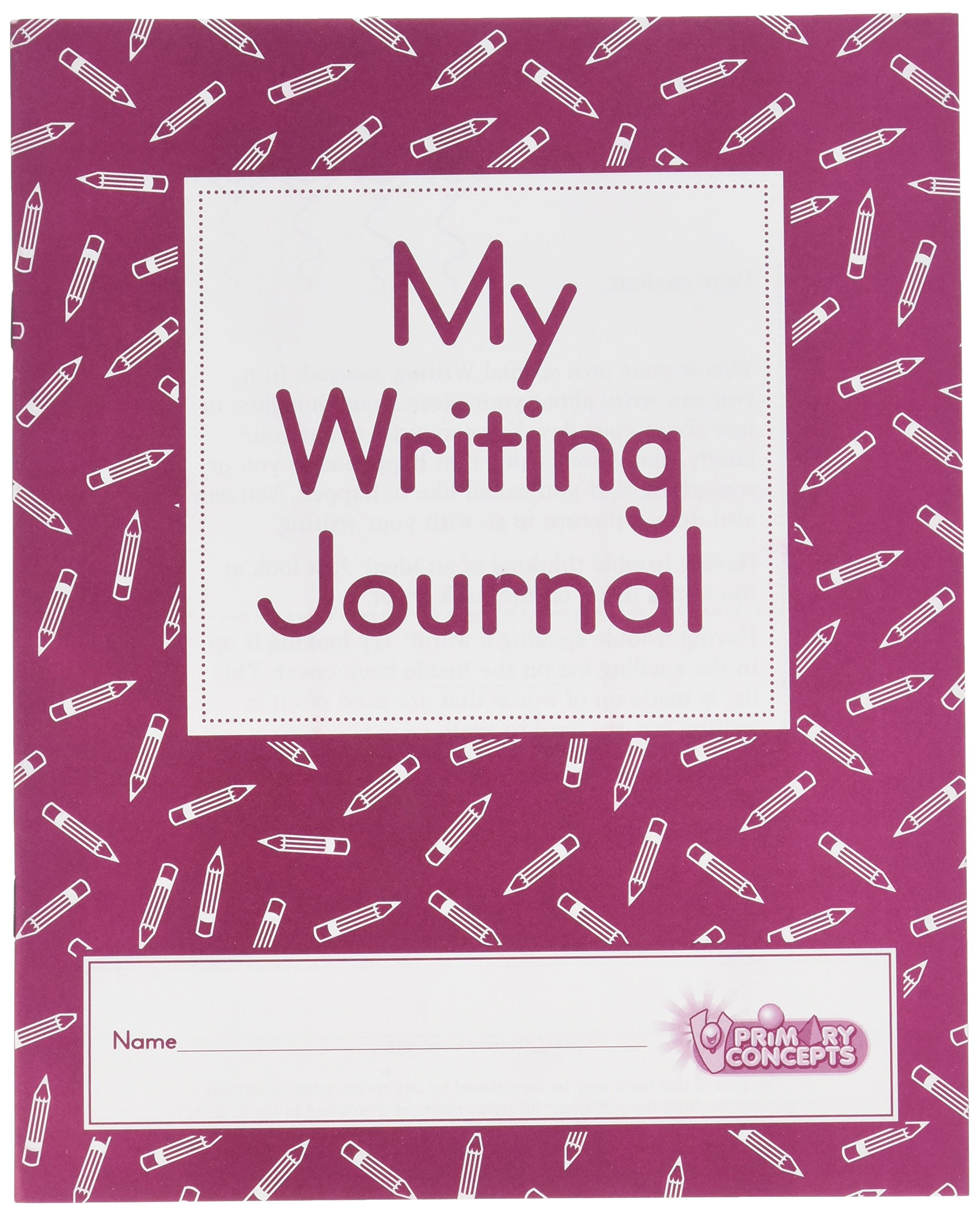 Primary Concepts, My Writing Journal (Set of 20)