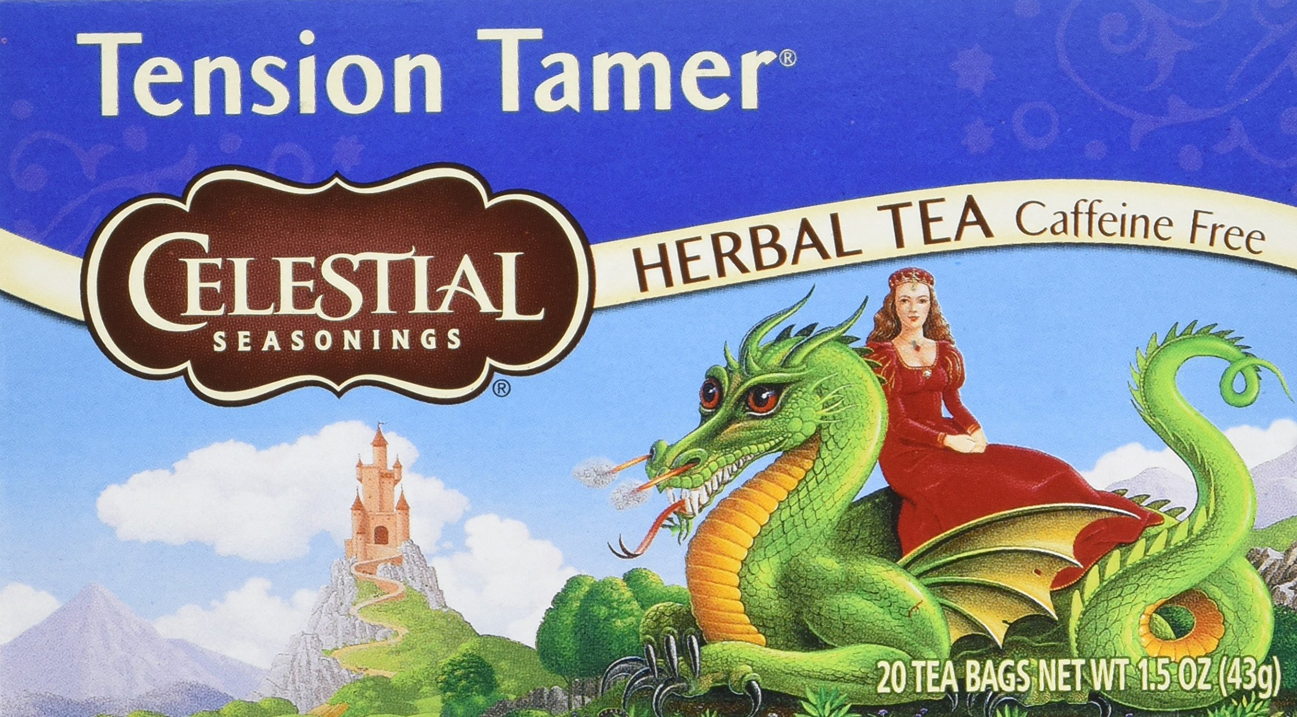 Celestial Seasonings Tension Tamer Tea Bags - 20 ct - 6 pk