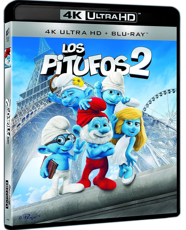 Los Pitufos 2 (4K Ultra HD) [Blu-ray]: Amazon.es: Neil ...