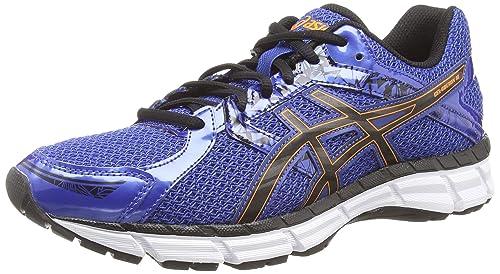 inercia átomo dignidad  Buy ASICS Men's Gel-Oberon 10 Running Shoes Blue (Blue/Black/Orange 4290) 9  UK at Amazon.in