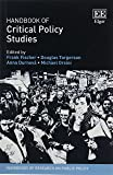 Handbook of Critical Policy Studies (Handbooks of Research on Public Policy)