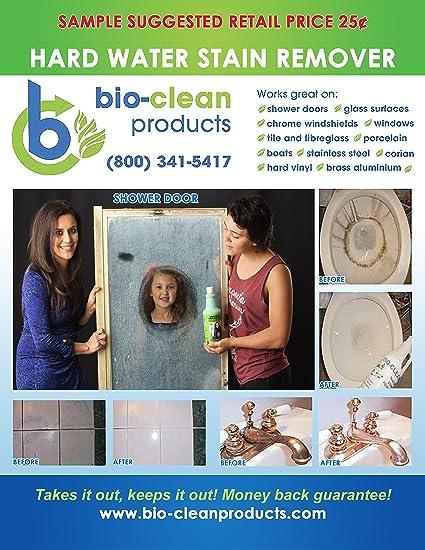 Bio Clean: duro agua quitamanchas (– Martillo fuerza Extra grande) -professional limpiador