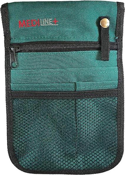 Bolsa para enfermera veterinaria, bolsillo con cinturón ajustable, color verde: Amazon.es: Equipaje