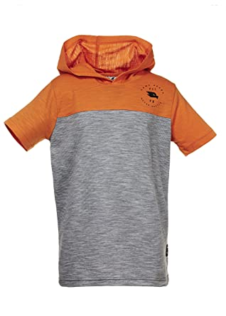 85a2e77d517 Tony Hawk boysH848518Short Sleeve Hoody Short Sleeve T-Shirt - Orange - 7 UK   Amazon.co.uk  Clothing