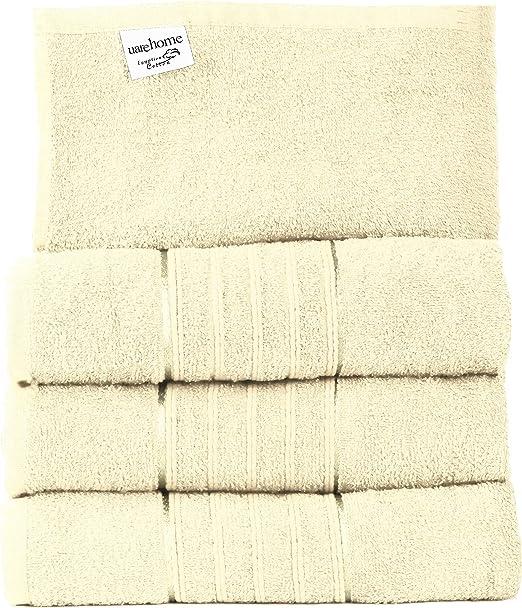 Set de 4 toallas de baño de algodón egipcio puro, tamaño gigante ...