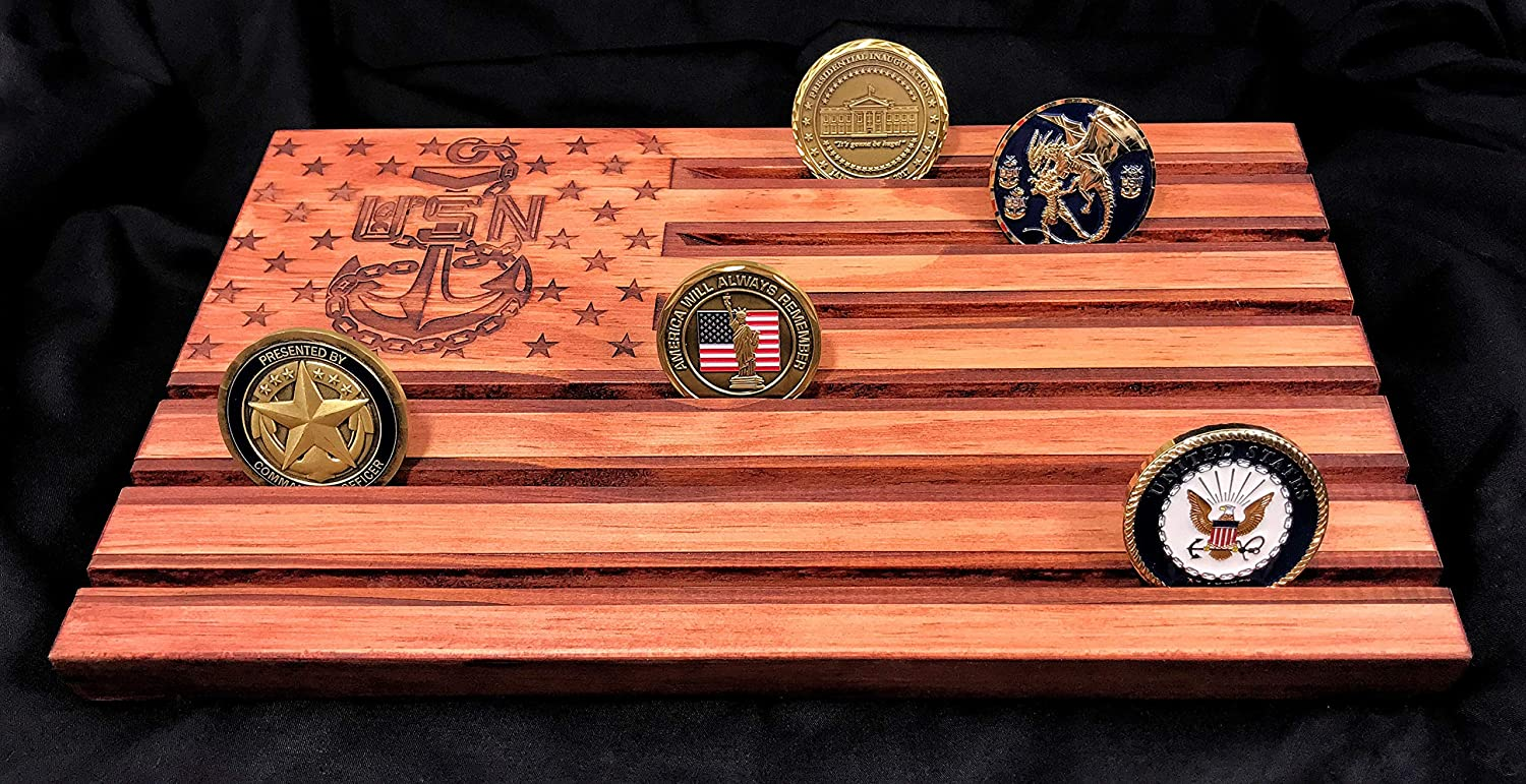 Loki Engraving Red Chief Petty Officer American Flag - Challenge