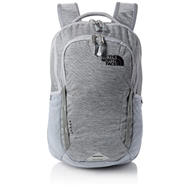 The North Face Vault Backpack - Mid Grey Dark Heather & TNF Black - OS
