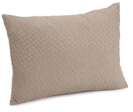 Amazon Calvin Klein Home Tanzania Puckered Decorative Pillow Enchanting Calvin Klein Decorative Pillows
