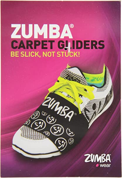 Amazon.com: Zumba Alfombra Planeadores para zapatos: Sports ...