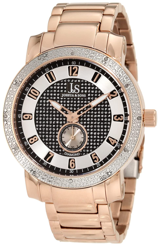 Armband Diamant Herren Sons Armbanduhr Edelstahl Joshuaamp; XiuTkOPZ