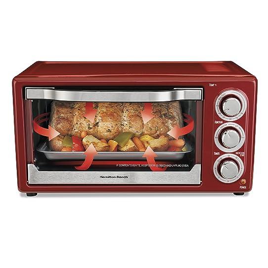 Hamilton Beach C 6 Slice Capacity Convection Toaster Oven