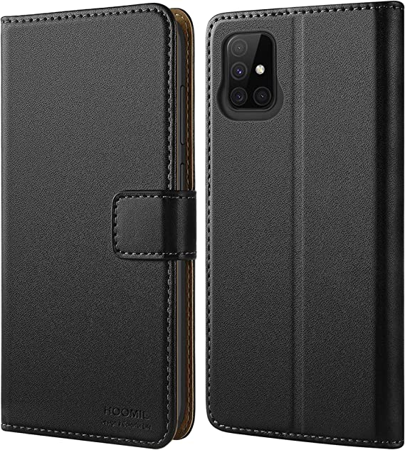 Rosegold NWNK13 For Samsung A71 Phone Case Premium Leather Flip Case Book Wallet Case Card Holder Media Stand Shock Proof Protective Phone Cover Compatible for Samsung Galaxy A71