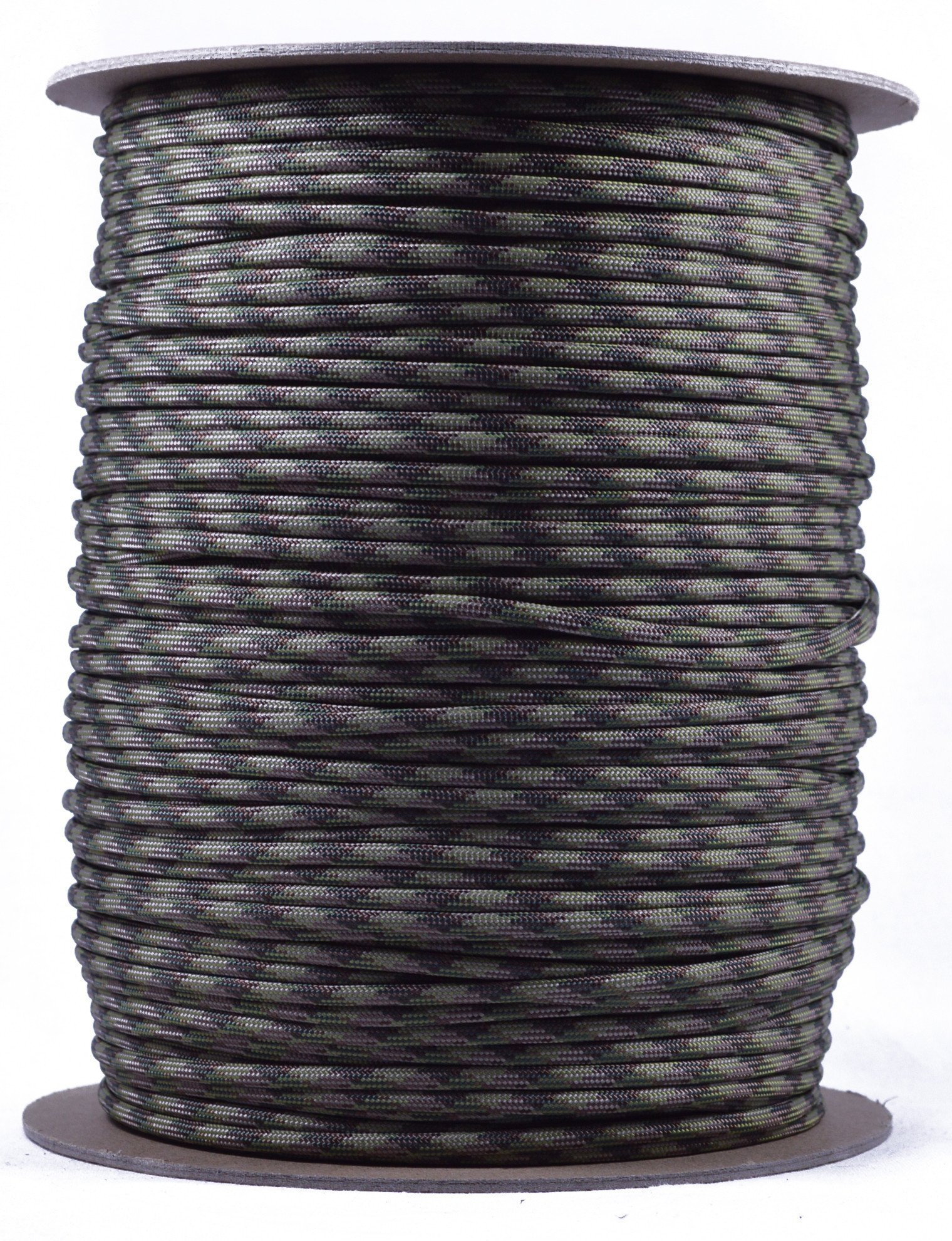 BoredParacord Brand Paracord (1000 ft. Spool) - Multicam