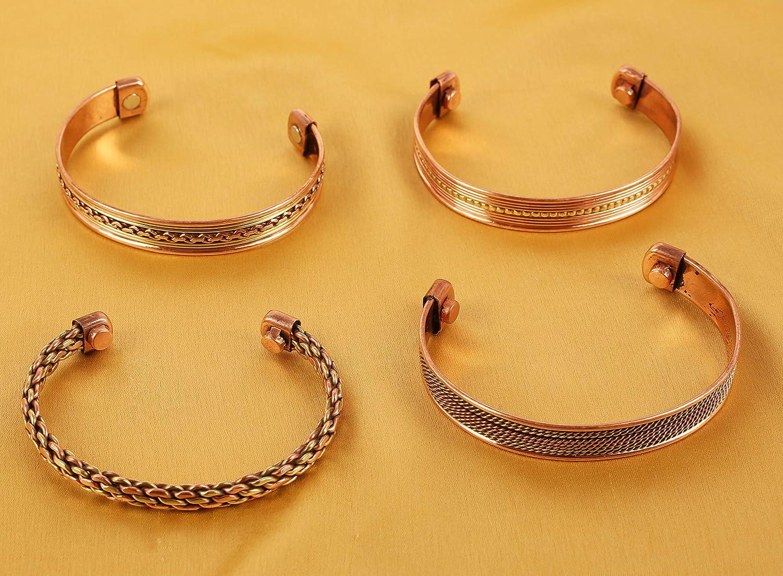 Touchstone Bracelet Indien Trois m/étaux Laiton Paix Chakra Yoga m/éditation Mantra Bijoux pour Femme