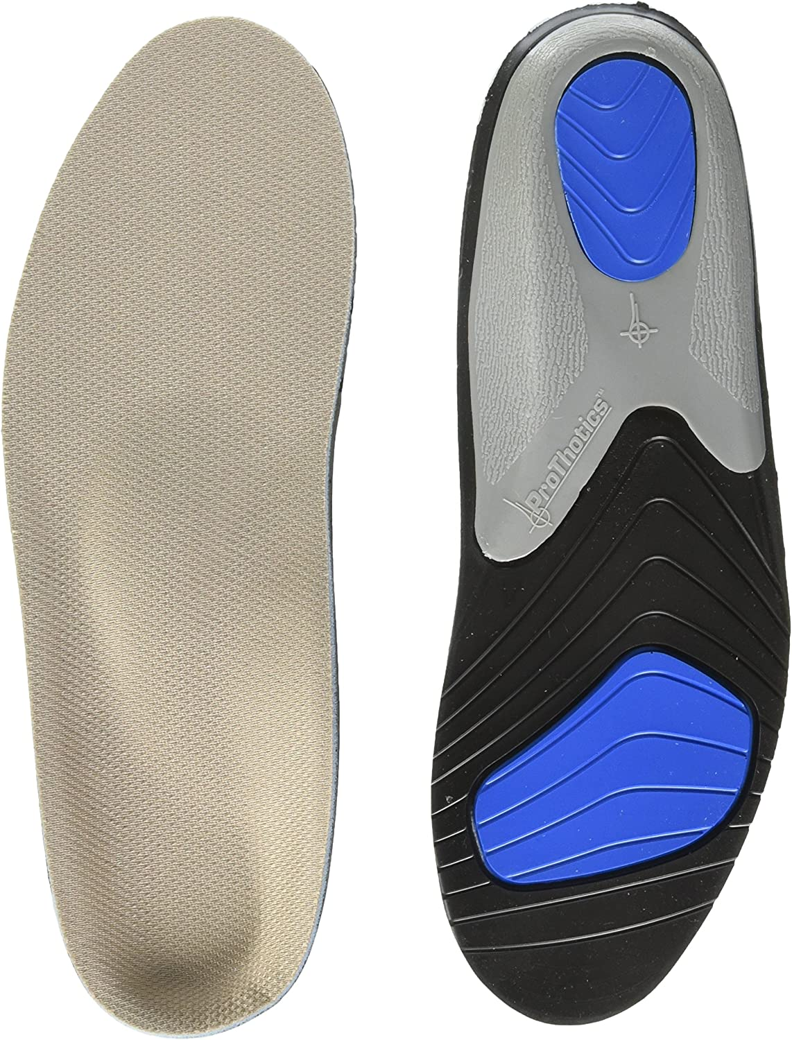 Diabetic Or Sore Arthritic Feet! Aching - Mn The Original Foot Pain Relief Insole for Plantar Fasciitis Swollen 5-6.5 7-8.5 B- Wm Prothotic Pressure Relief Insoles