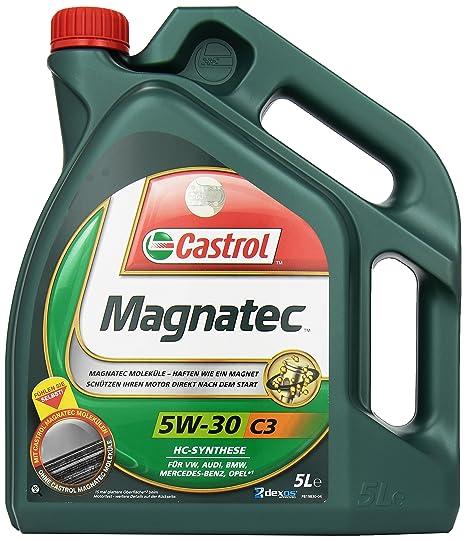 Castrol MAGNATEC Aceite de Motores 5W-30 C3 5L