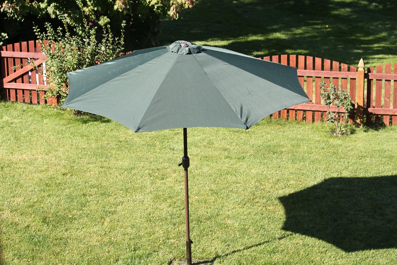 Amazon.com : 9\' Outdoor Patio Umbrella - Tilt Crank : Garden & Outdoor