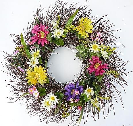 Fancy Francie All Weather Front Door Wreath Outdoor Wreath