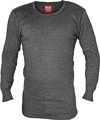 Grey Men/'s 0.45 Tog Rated Warm Winter Thermal Underwear Vest /& Long Johns Set