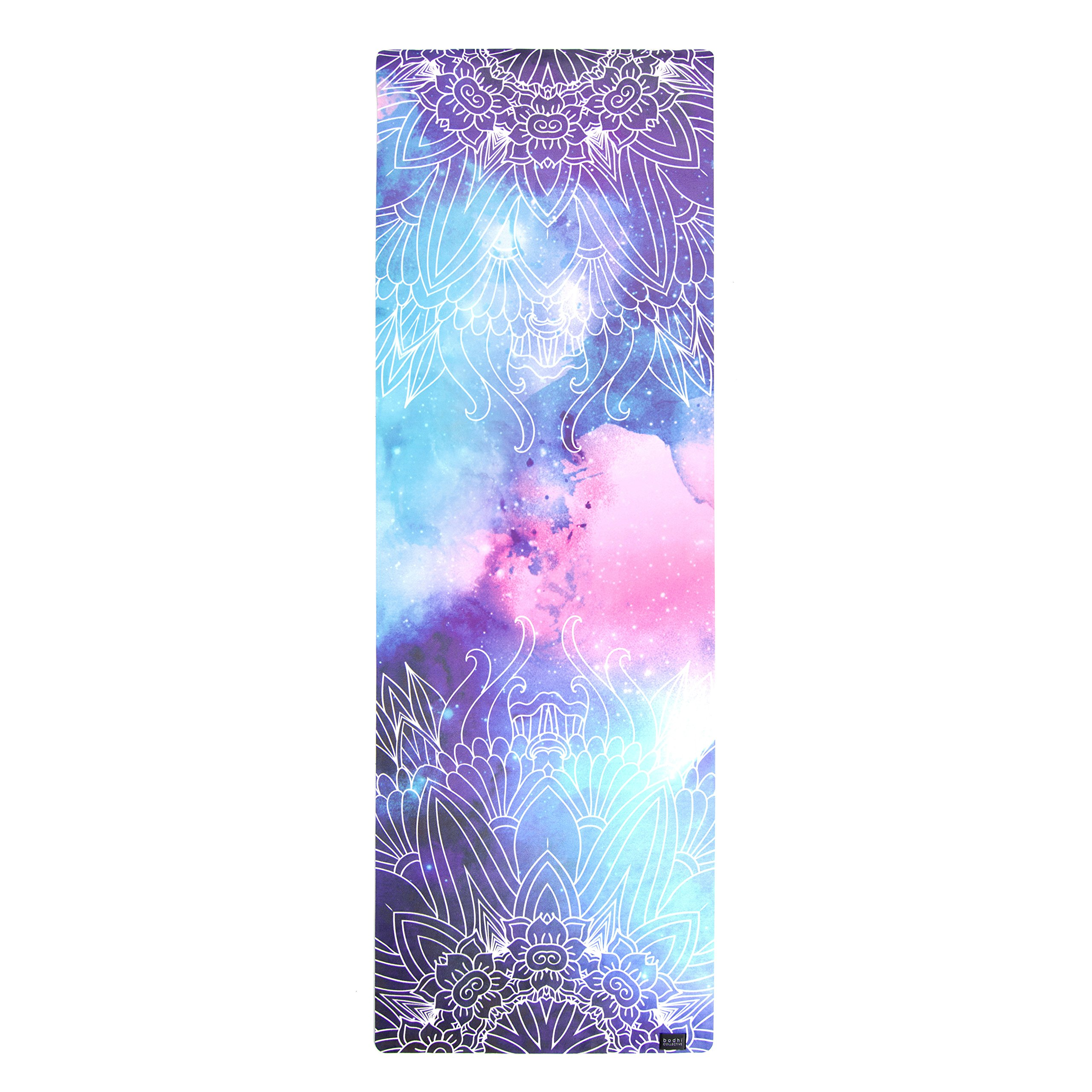 Bodhi Collective MERAKI Luxe Printed Yoga Mat   Premium Eco Friendly Natural Rubber & Soft Suede by Bodhi Collective (Image #3)
