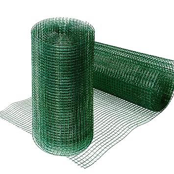 Grillage pour jardin casa pura® clôture vert | tailles au choix ...