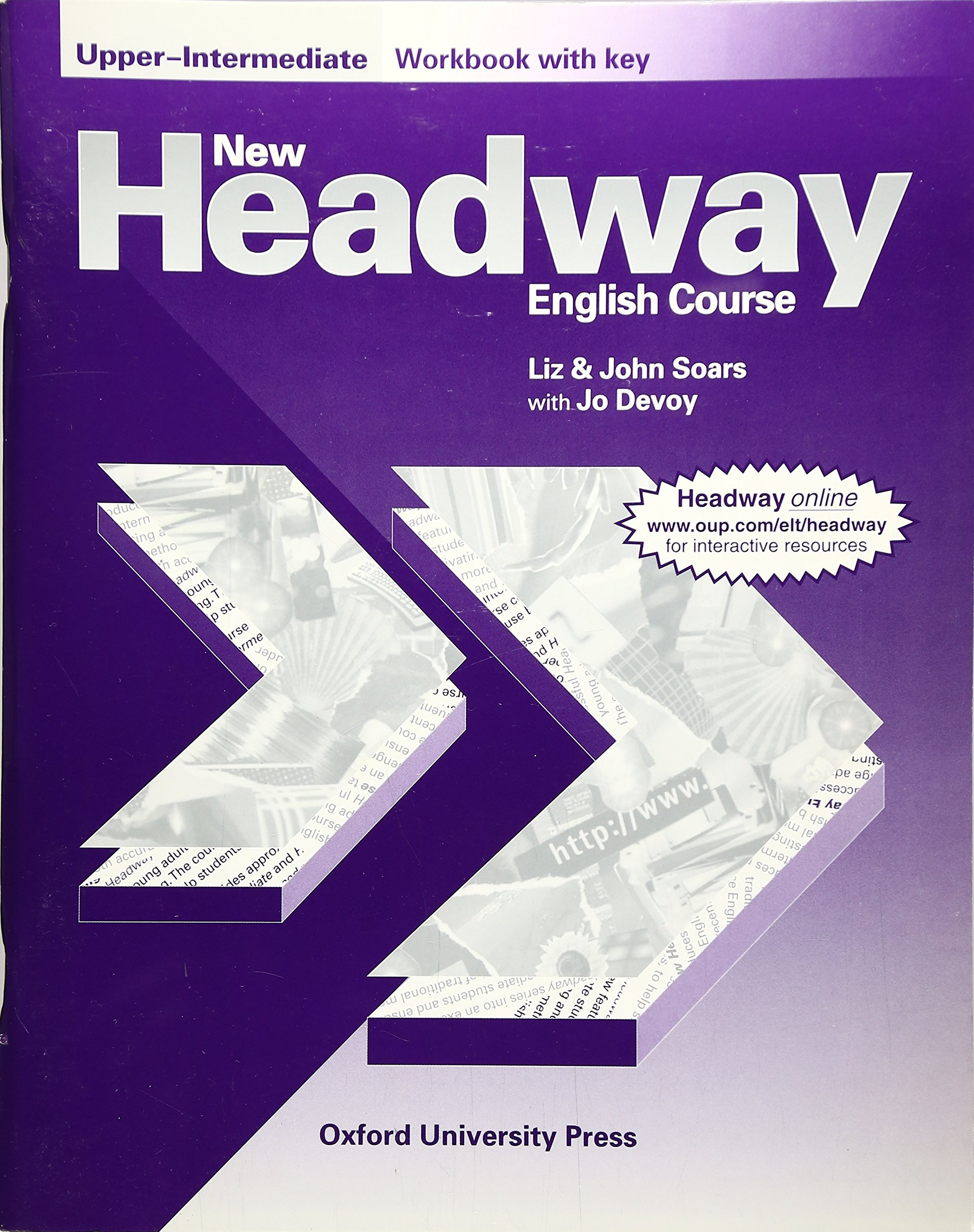 New Headway English Course, Upper-Intermediate, Workbook, with Key