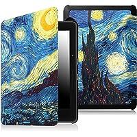 Capa para Kindle Voyage - FIT Rígida - Fecho Magnético (Noite Estrelada)
