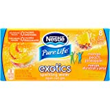 NESTLE PURE LIFE EXOTICS Sparkling Water, Mango Peach Pineapple, 12-ounce cans (Pack of 8)
