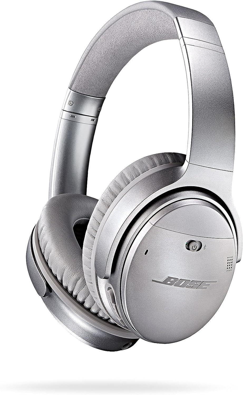 Bose QuietComfort 35 - Auriculares inalámbricos (reducción de Ruido, Bluetooth), Color Plata