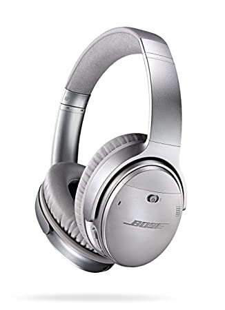 detailed pictures 5e842 10665 Bose QuietComfort 35 (Series I) Wireless Headphones, Noise Cancelling -  Silver