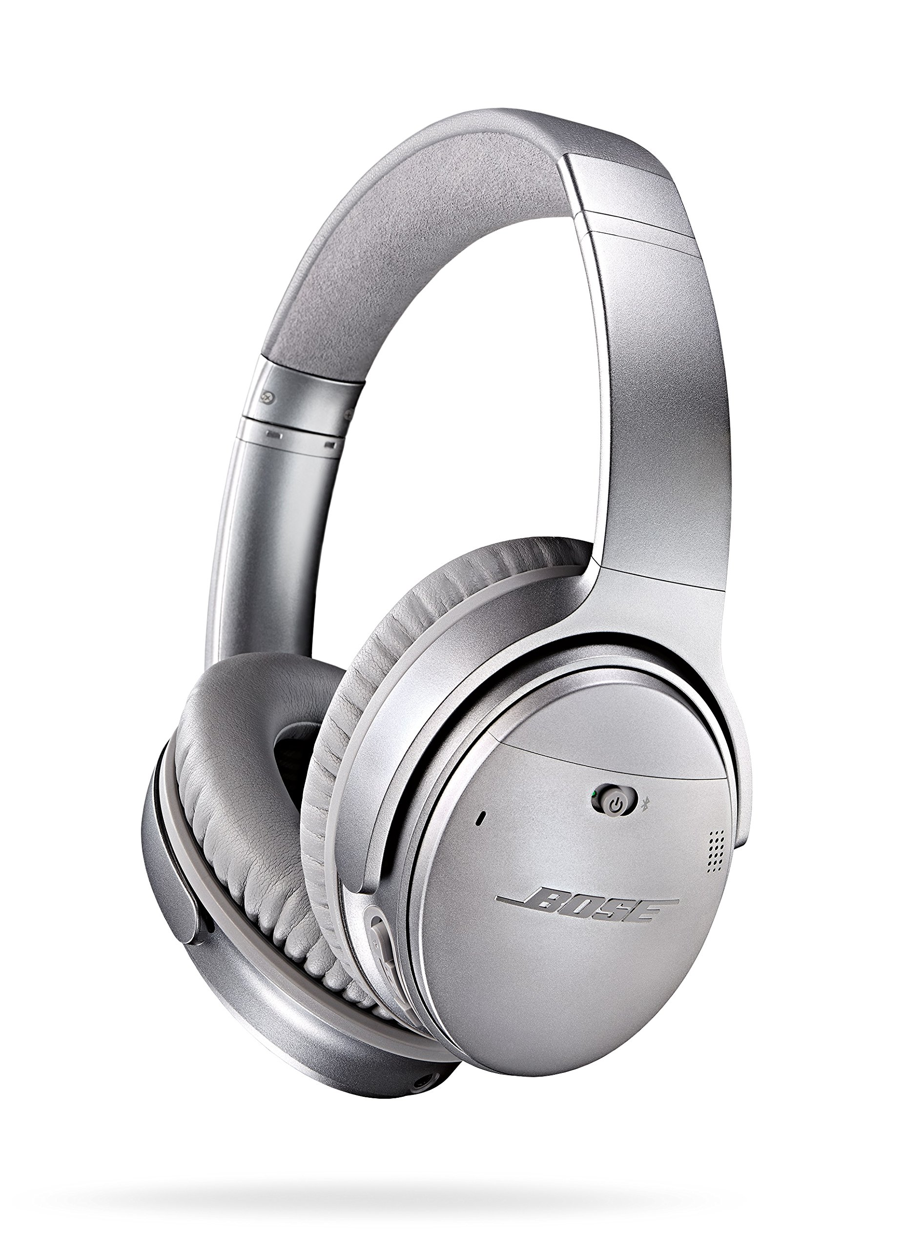 Bose QuietComfort 35 (Series I) Wireless Headphones, Noise Cancelling - Silver by Bose