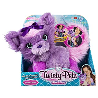 Twisty Petz Cuddlez Puppy Transforming Collectible Plush for Kids Aged 4 & Up