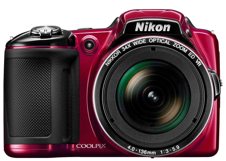 Nikon Coolpix L830 - Cámara compacta de 16.79 Mp (pantalla de 3