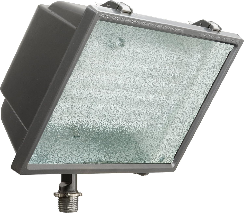 Flood Light 2 Lamp Outdoor Gray Bronze Adjustable Lamp Rust Weather Resistant
