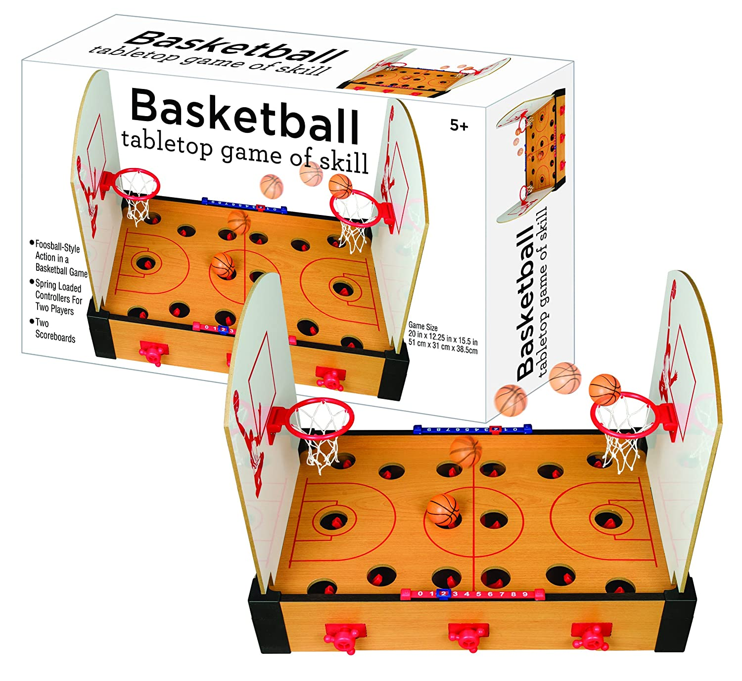 Tabletop Basketball Game (2 Player) B01HSF3Y9S