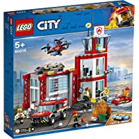 LEGO CITY Fire Station 60215 Building Toy