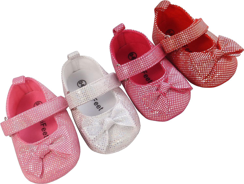 MiniFeet Baby Girls Shoes/Christening