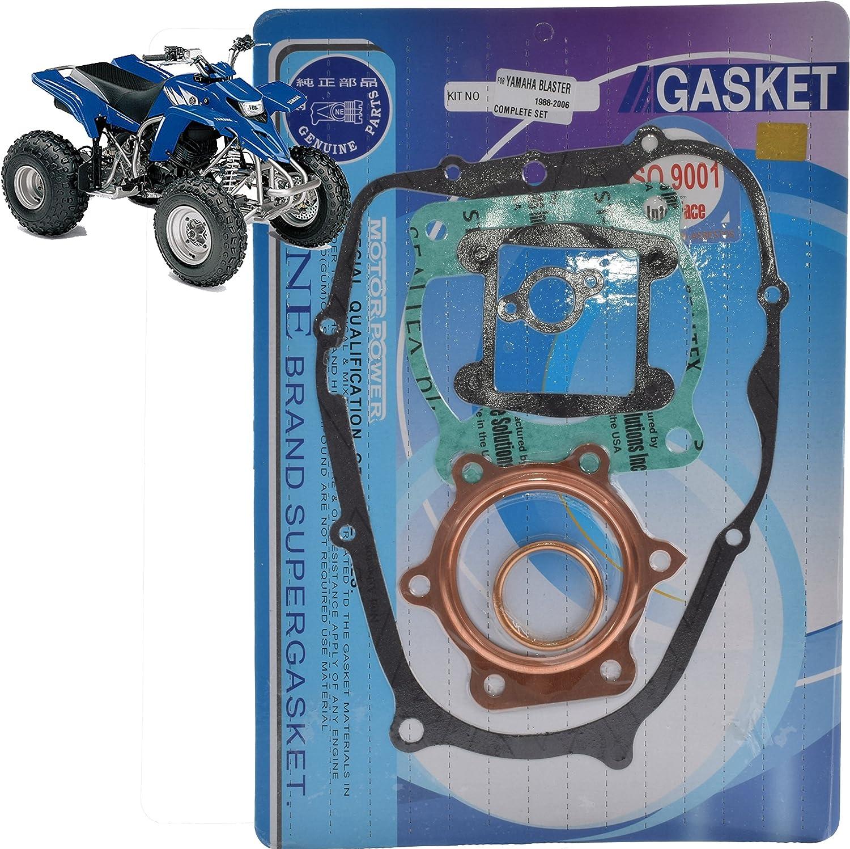 Yamaha High Quality Complete Engine Gasket Kit Set Blaster YFS 200 1988-2006